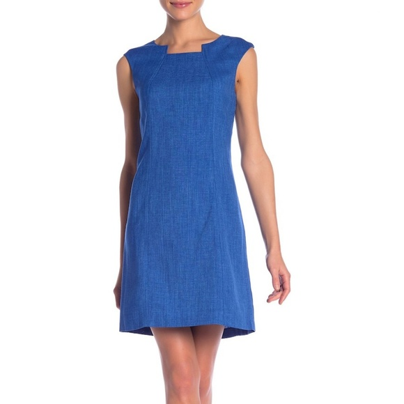 da7983f4 Tahari Dresses | By Asl Textured Cap Sleeve Sheath Dress 6 | Poshmark